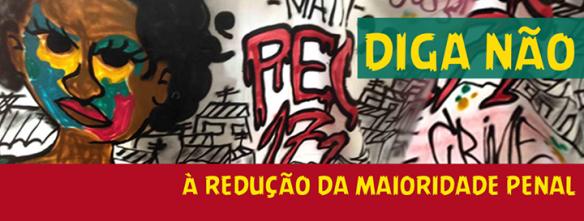 Grafitti Redução Maioridade Penal - Secretaria Direitos Humanos